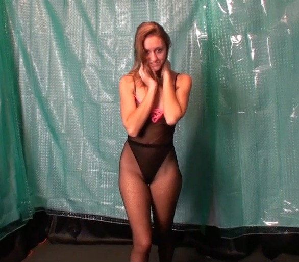 Jerk your lil dick to cory chase leotard stiletto boots 7